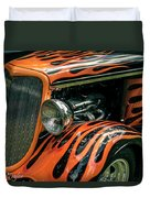 Fabulous Flames  Duvet Cover