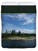 Fabulous Northern Summer - Georgian Bay Island Landscape Duvet Cover