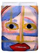 Face 1 Duvet Cover
