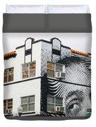 Face House, Calle Ocho Duvet Cover