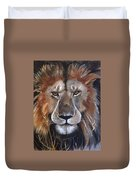 Face Of Majesty Duvet Cover