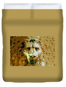 Face Of The Lion Duvet Cover