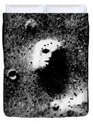 Face On Mars Duvet Cover