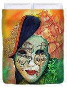 Face The Music Duvet Cover