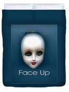 Face Up Duvet Cover