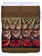 Face Your Audience Duvet Cover by Evelina Kremsdorf