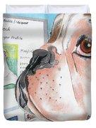 Facebook Dog Duvet Cover