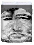Faces Duvet Cover