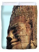 Faces Of The Bayon Temple - Siem Reap, Cambodia Duvet Cover
