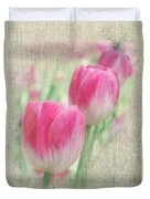Faded Floral 8 Duvet Cover