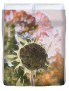 Faded Flower Duvet Cover