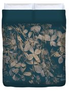 Faded Flowers Duvet Cover