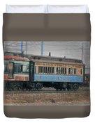 Faded Glory - B And O Railroad Car Duvet Cover