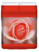 Faded - Perfect Pink Rose Duvet Cover