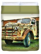 Faded Relic  Duvet Cover