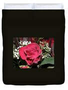 Faded Rose 1 Duvet Cover