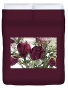 Faded Rose 2 Duvet Cover