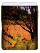 Fading Cactus Duvet Cover