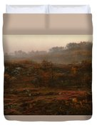 Fading Fall Colors II Duvet Cover