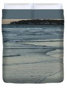 Fading Fast In Maine Duvet Cover