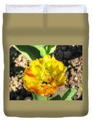 Fading Flower Duvet Cover