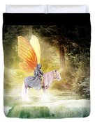 Fae In The Forest Duvet Cover