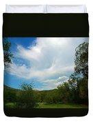 Faint Rainbow  Duvet Cover