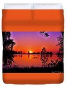 Fair Haven Sunset Duvet Cover