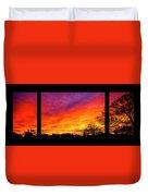 Fair Oaks Sunset Duvet Cover