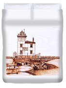 Fair Port Harbor Duvet Cover
