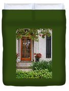 Fairhope Doorway Duvet Cover by Michael Thomas