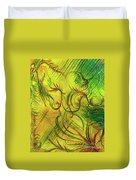 Fairies In The Garden Duvet Cover