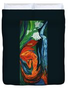 Fairies Of Fire And Ice Duvet Cover