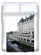 Fairmont Chateau Laurier - Ottawa Duvet Cover