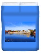 Fairmount Water Works - Philadelphia Duvet Cover