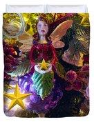 Fairy Dust Christmas Duvet Cover
