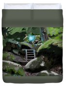 Fairy In The Wood Duvet Cover