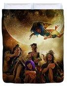 Fairy Night Chat Duvet Cover
