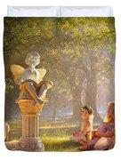 Fairy Tales Duvet Cover by Greg Olsen