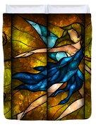 Fairy Tetraptych Duvet Cover by Mandie Manzano