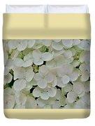 Fairy White Flowers Duvet Cover