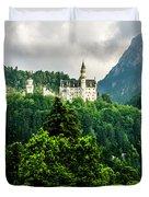Fairytale Castle Neuschwanstein  Duvet Cover