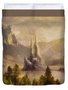 Fairytale Castle Duvet Cover