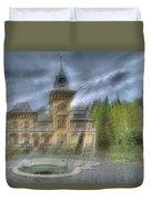 Fairytale Villa - Villa Delle Fiabe Duvet Cover by Enrico Pelos