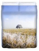 Fairytale Winter In Fingal Duvet Cover