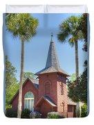 Faith Chapel Duvet Cover