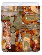 Faith Hope Love Duvet Cover by Angela L Walker