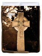 Faithful Until Death Duvet Cover