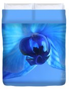 Faithfully Blue Duvet Cover