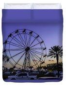 Fajitaville Ferris Wheel 2 Duvet Cover